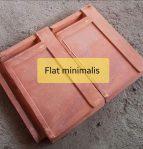 Genteng flat minimalis