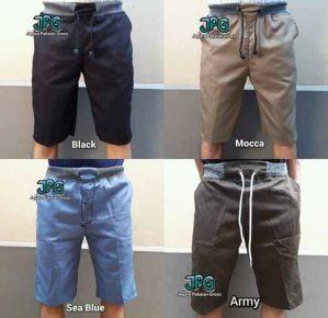 Celana pendek 4 warna